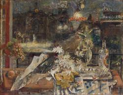 Mesa en la Nochebuena, 1957