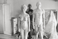 Working on Man and Woman, 1973