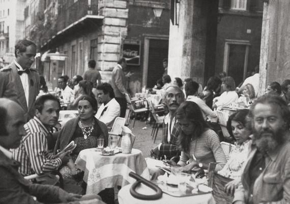 En Roma con amigos, 1972