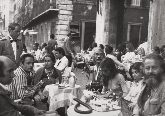 In Rome with friends, 1972