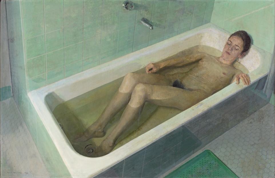 Mujer en la bañera, 1968
