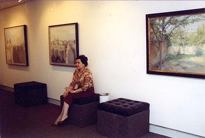María_Moreno_en_Galería_Claude_Bernard,_