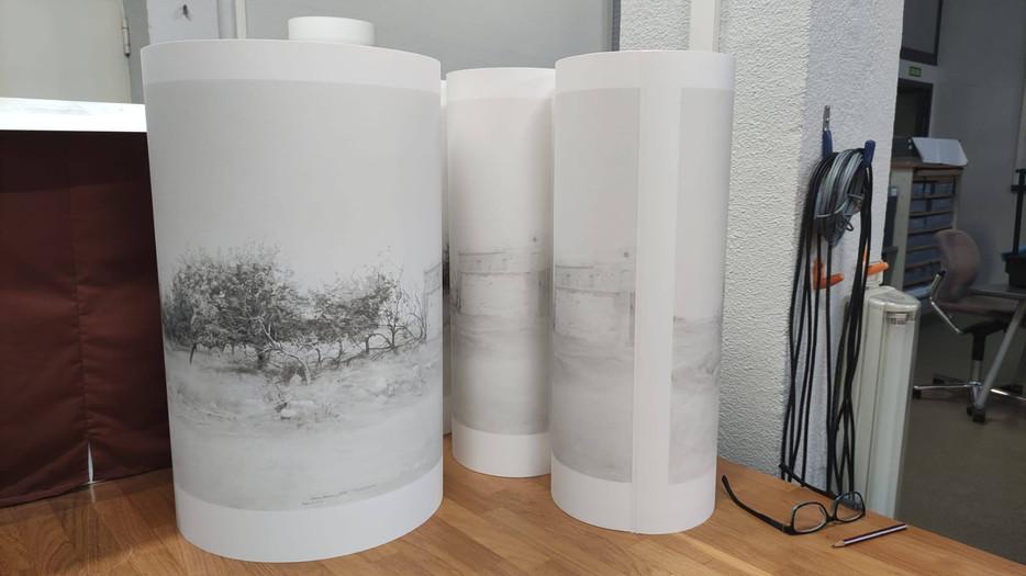En el taller de impresión de UM