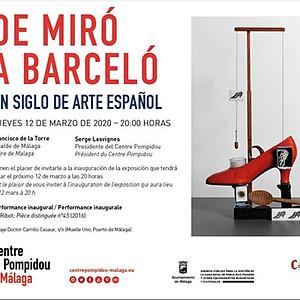 """Exposición """"De Miró a Barceló"""""""