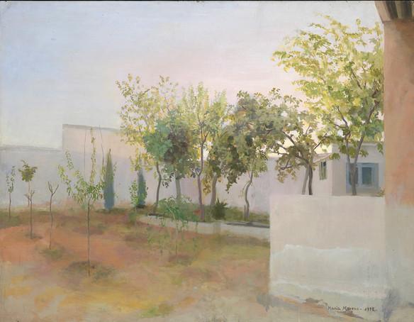 María Moreno, Jardín de los frutales.Tomelloso, 1972
