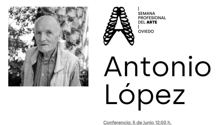 Conferencia de Antonio López en la Seman