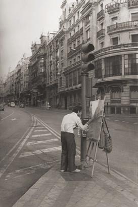 Pintando la Gran Vía, 1978