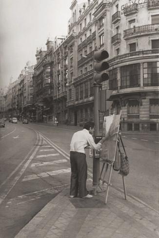 Painting the Gran Vía, 1978