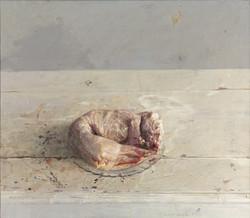 Conejo desollado, 1972