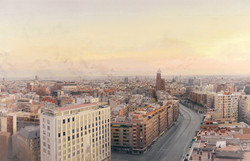 Madrid desde Torres Blancas, 1974-82