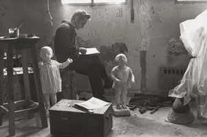 In the studio, 1973