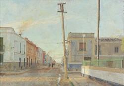 Calle de Santa Rita. Tomelloso, 1961