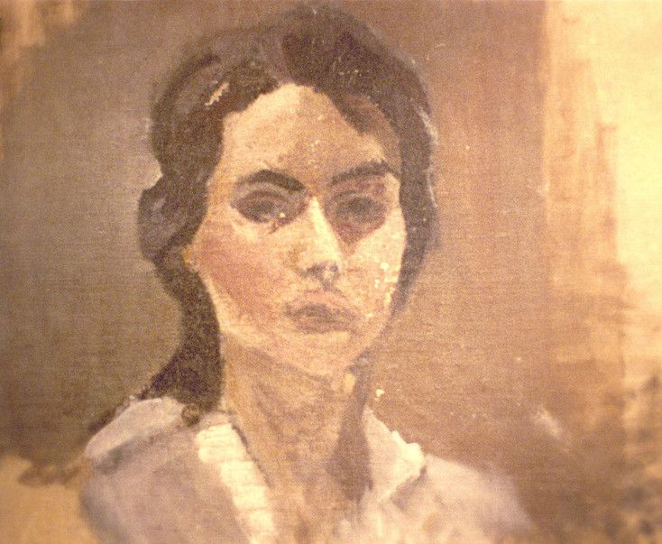 María Moreno, Self-portrait 1957