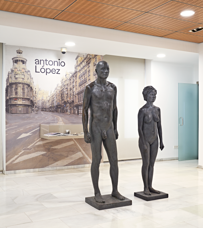 EXPOSICIÓN DE ANTONIO LÓPEZ Y MARÍA MORENO EN F.EXPOSICIÓN EN F. BANCAJA-06-UMFotografía