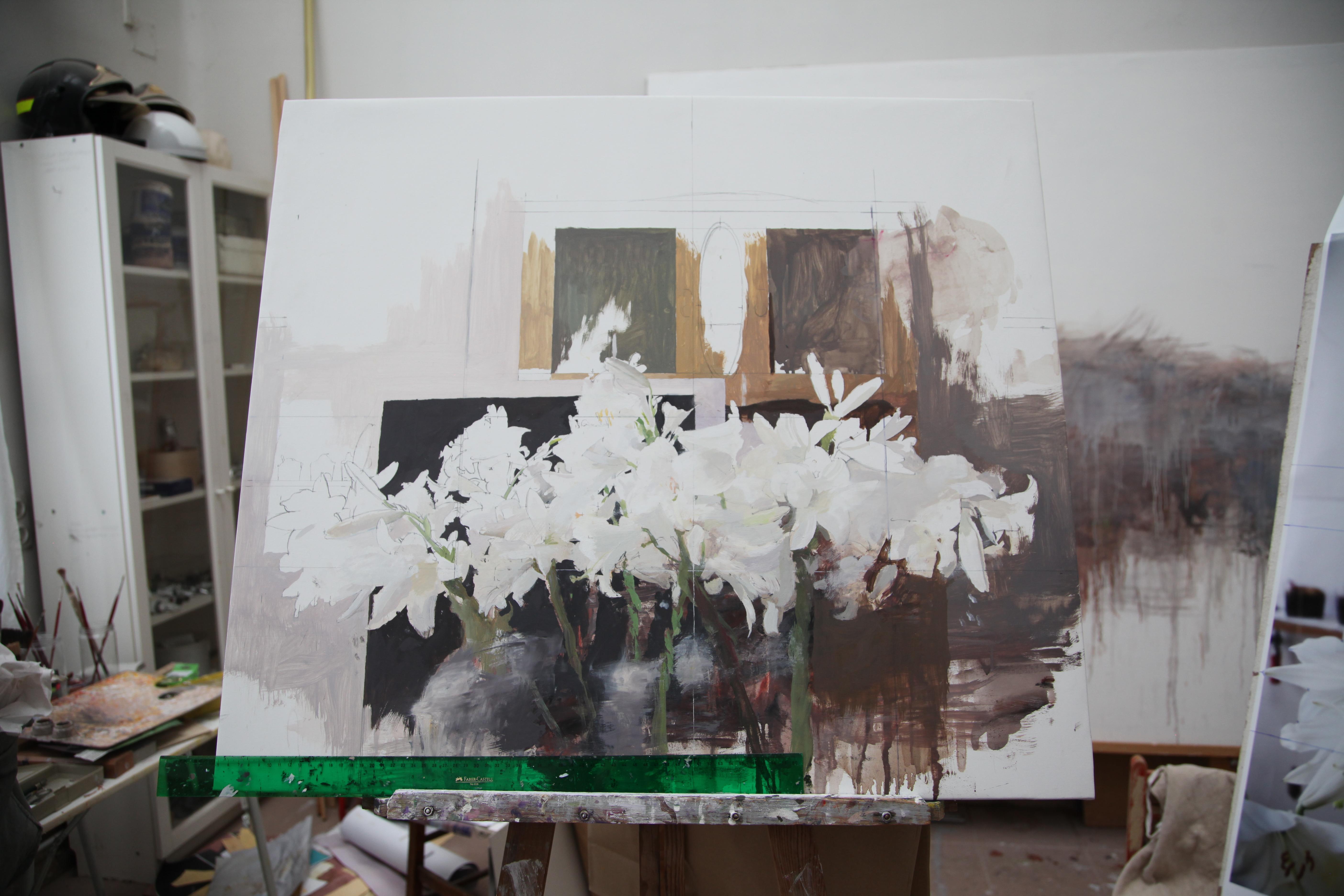 Pintura en proceso, 2017