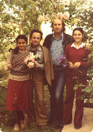Antonio López, Enrique Gran, Carmen and María López, 1978