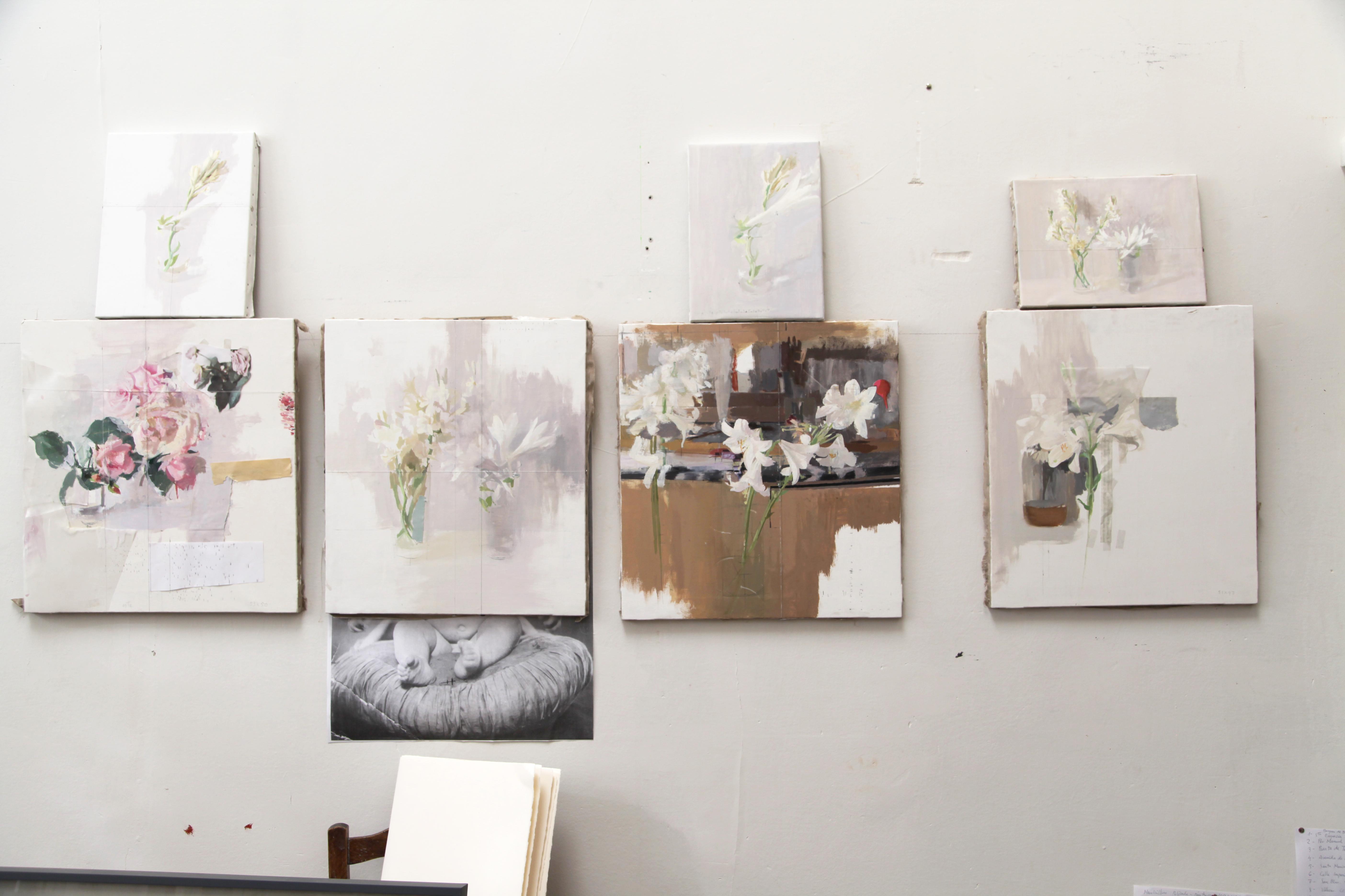 Nuevas pinturas de flores