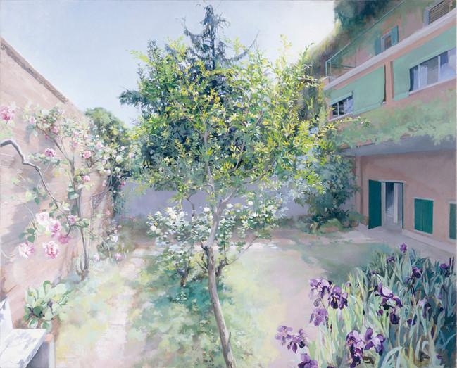 María Moreno, Jardín de la Plaza de la Infancia, 1995