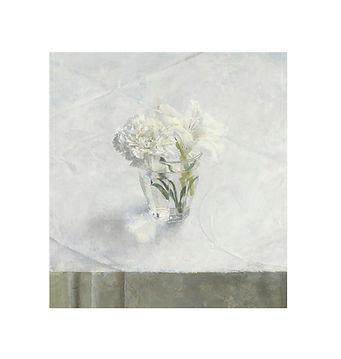 Antonio Lopez, estampación Vaso con flores