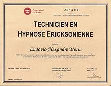 Double certificat Technicien Hypnose ARC