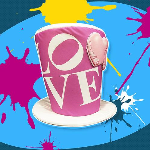 Galerón Love Rosa