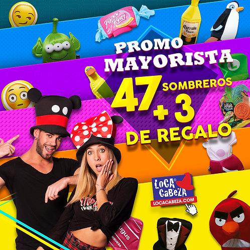 Promo 47 Sombreros + 3 DE REGALO!