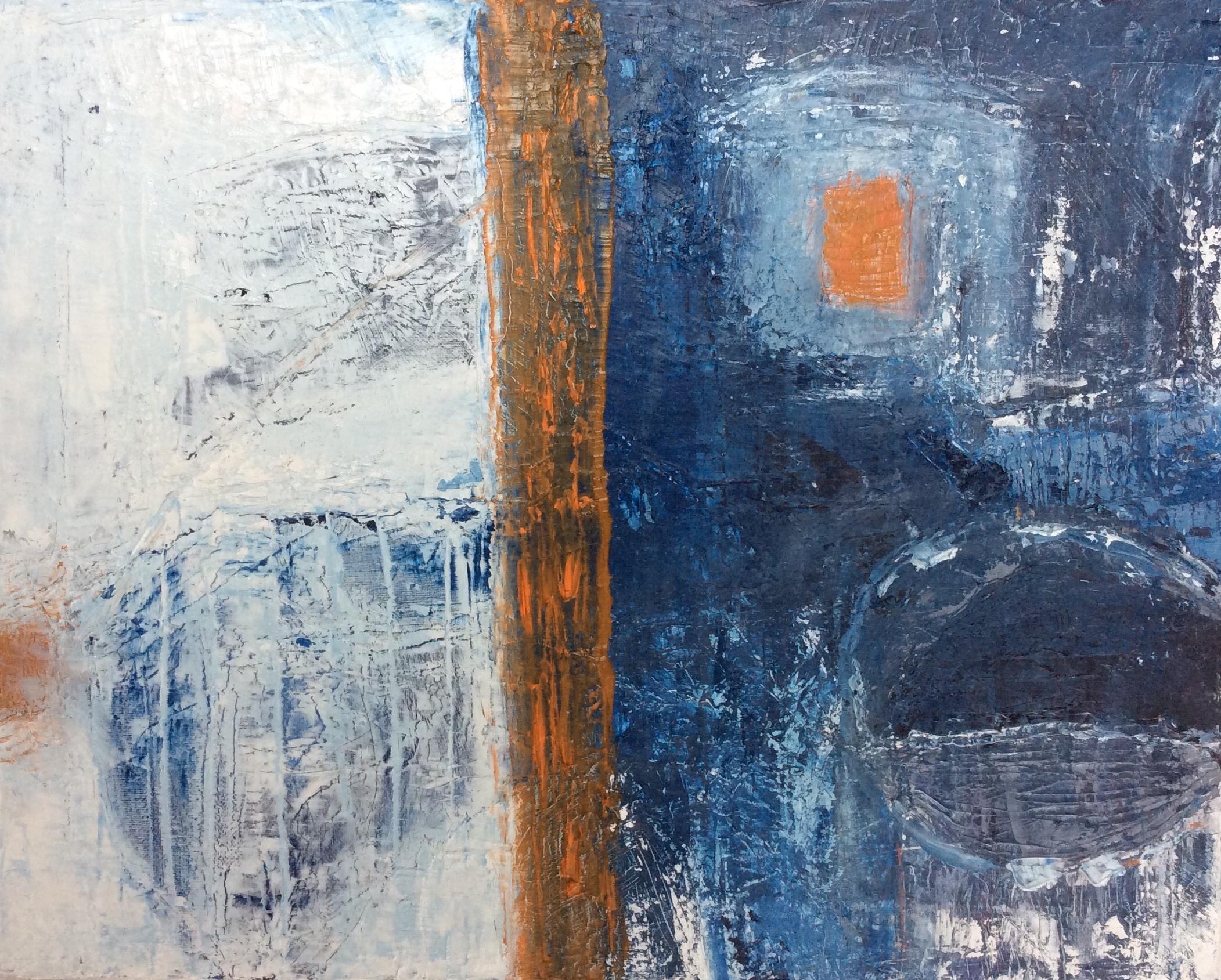 Blue and Orange Harbour