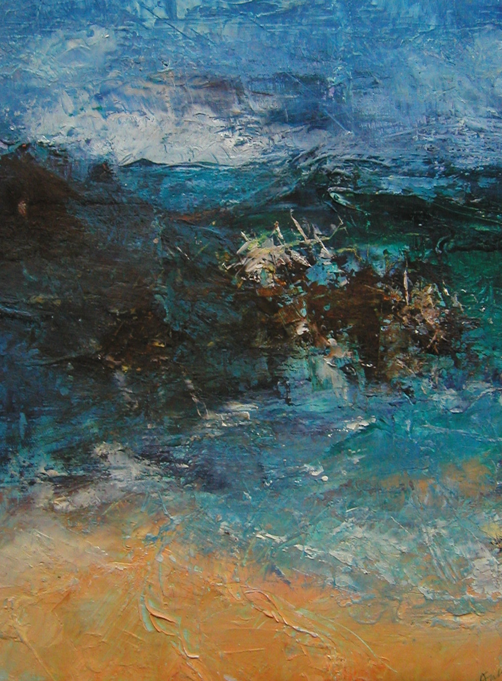 Cornish Sea and Sand