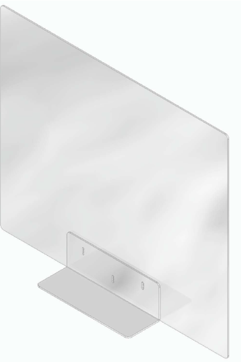 Separador frontal ⎜98*63 cm