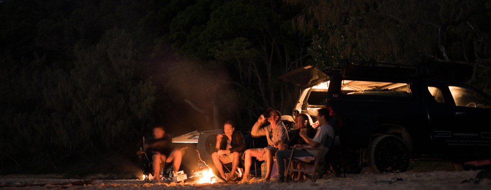Camping trips at Double Island