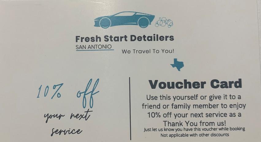 Voucher Card Program