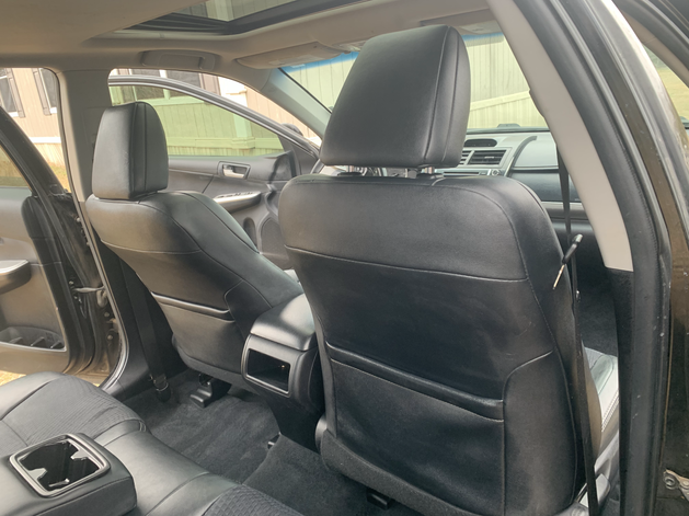 Auto Detailing Clean Carpets and leather