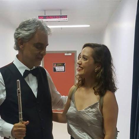 עם אנדראה בוצ'לי!