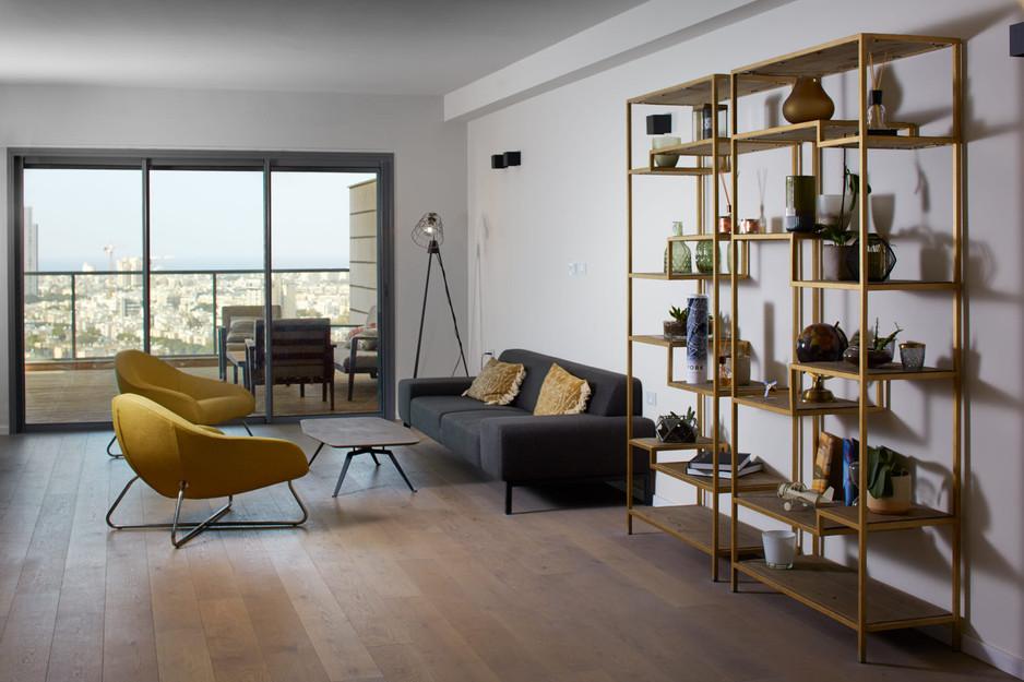 דניאלה פרישמן - עיצוב ואדריכלות פנים - ליווי דירת קבלן בגבעתיים