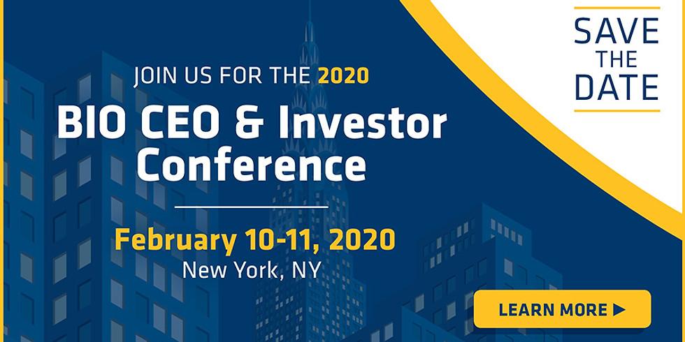 BIO CEO & Investor Conference 2020