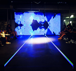 Laser Fashion Show Runway
