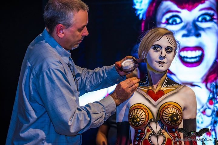 Body Paint Night at gallery