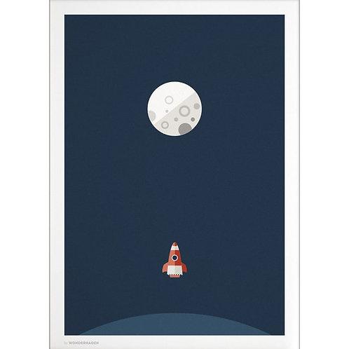 Wonderhagen カード「Rocket Navy」