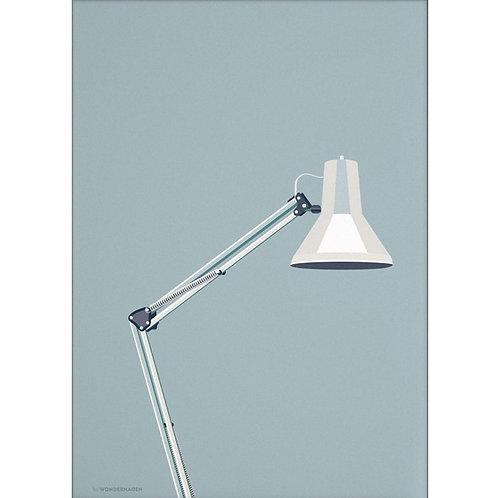 Wonderhagen ポスター「Architect Lamp」