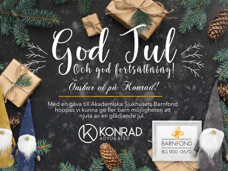 Konrad önskar God Jul!