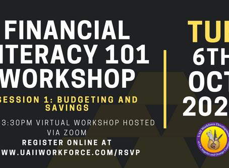 Financial Literacy Session #1 (Budgeting / Savings)