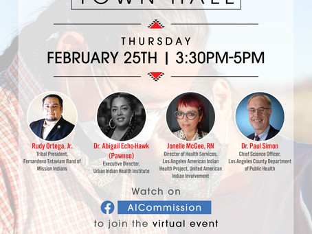 COVID-19 Vaccine Town Hall |  Los Angeles City/County Native American Indian Commission