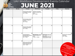 Join us in June! Check out our June 2021 Calendar of Events