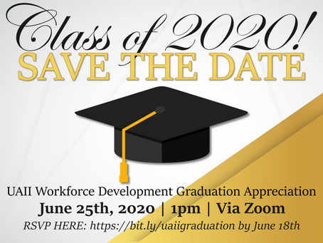 Virtual Graduation Appreciation Event