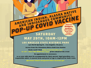 Second Pop-Up COVID-19 Vaccine Event! May 29th, 2021
