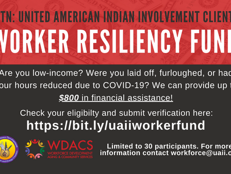 Worker Resiliency Fund