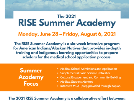 Interested in Medical School? Join the RISE Pre-Medical Enrichment Program