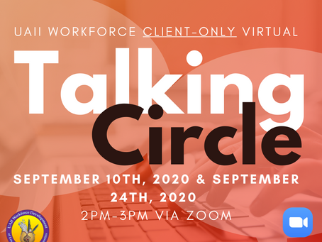 Exclusive Client Only Talking Circles