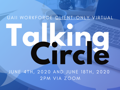 Client-Only Exclusive Virtual Talking Circle (Two June Dates!)