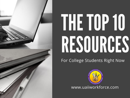 The Top 10 Resources for College Students Right Now